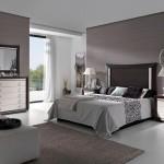 Dormitorio 23 - Madera  Maciza combinado  Ébano y  Lacado Blanco