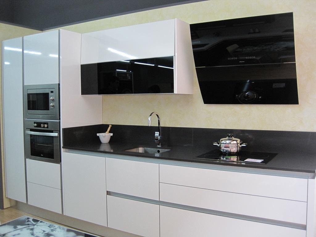 Muebles de cocina blancos sin tiradores - Tiradores para cocinas ...