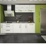 Cocina  Combinado Verde Pistacho y Blanco