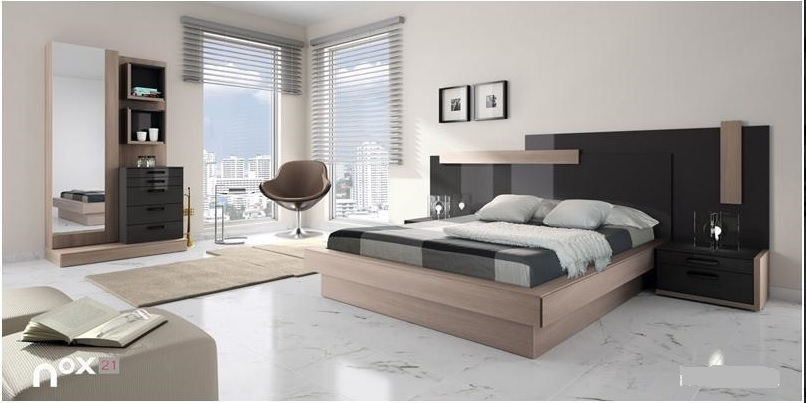 Dormitorios for Dormitorio matrimonio negro