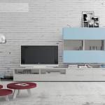 Mueble Salón  modular. Posibilidad  de  hacerse  en  varios  colores