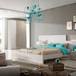 Dormitorio Cabecero Corrido con luces