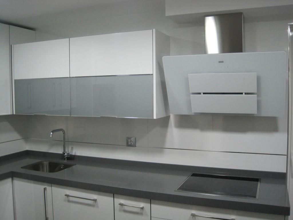 Muebles cocina blanco brillo quotes - Cocinas blancas brillo ...
