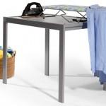 Detalle  de  Mesa  de  cocina con la tabla de planchar