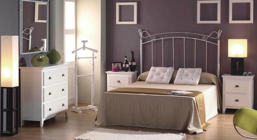 Muebles forja blanco 20170905111615 for Dormitorio cabecero blanco