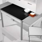 Mesa  cocina Extensible - Tapa de cristal