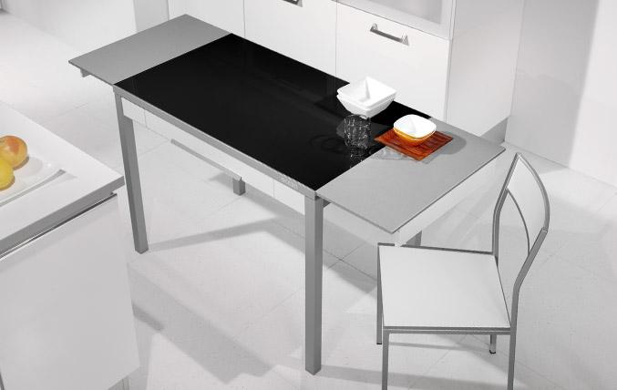 Mesas y sillas de cocina - Cristal para cocina ...