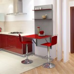 Mesa de cocina con estantería - Abierta