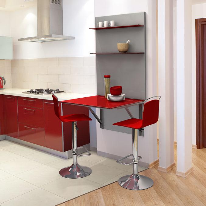 Mesas y sillas de cocina for Mesa cocina con taburetes