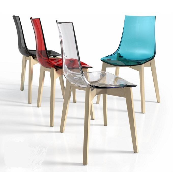 Mesas y sillas de cocina for Sillas de colores para cocina