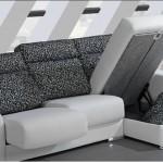 Sofá - Arcón abatible y asientos extraíbles